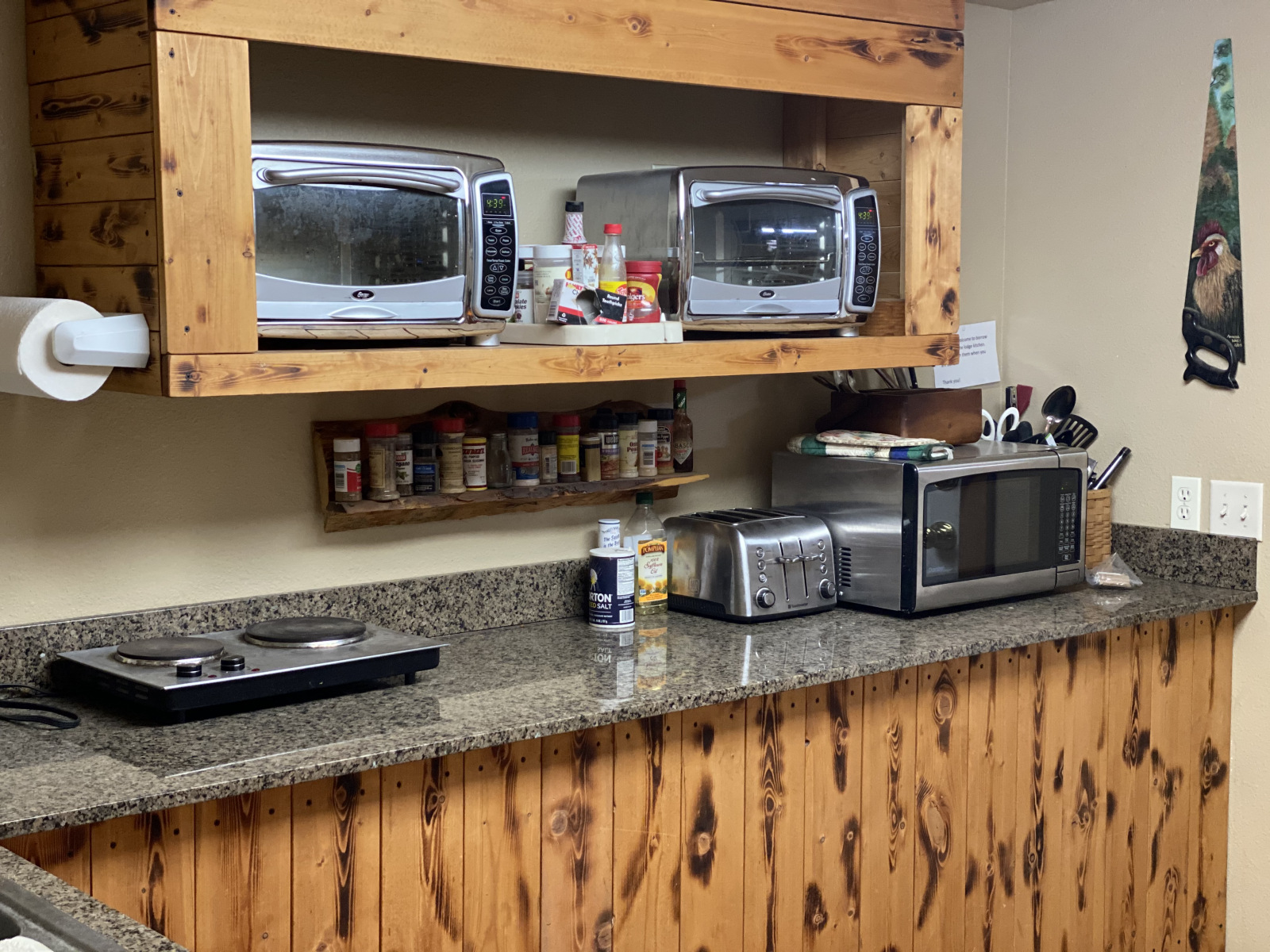 Kitchen Area in Lodge