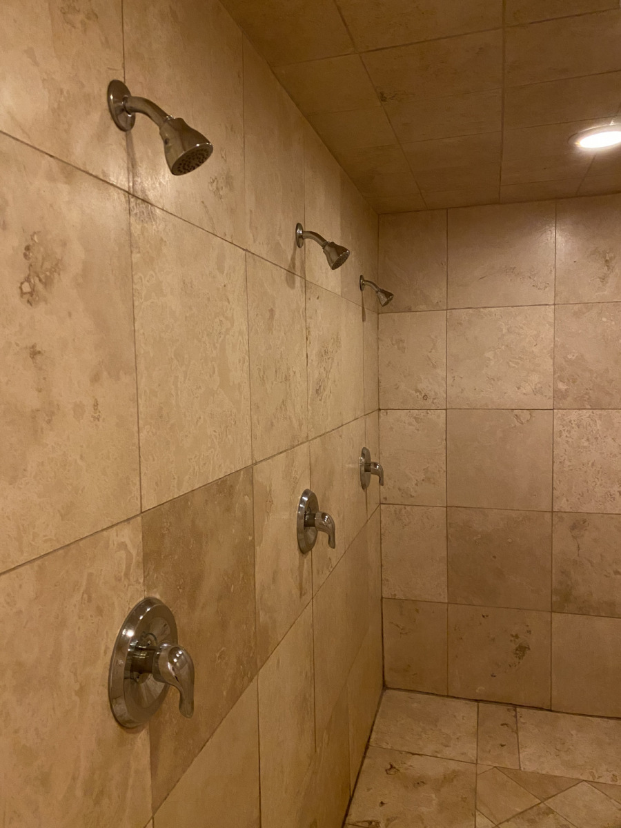 Additional Shower Facilities